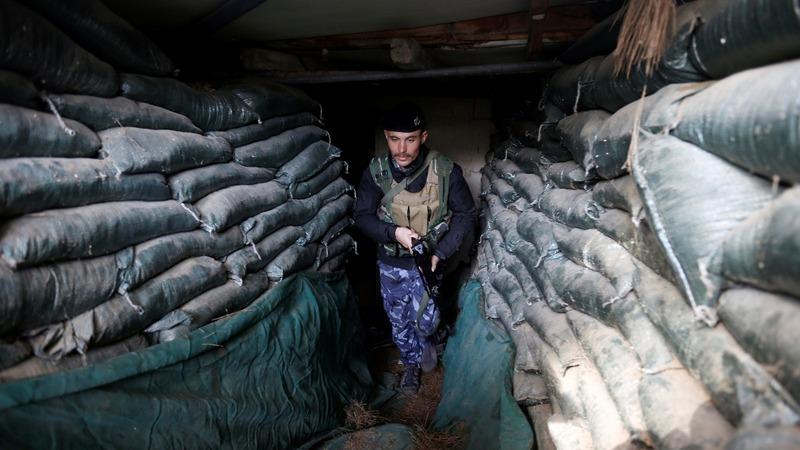 Danger stalks Iraqi police at former I.S. camp