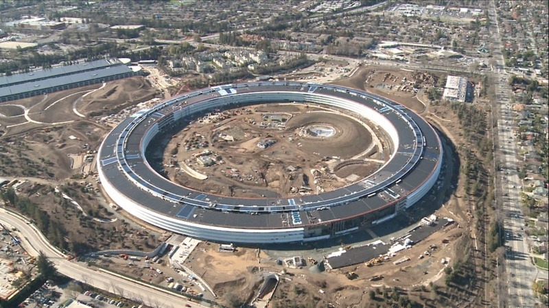 Inside Apple's new 'spaceship' HQ