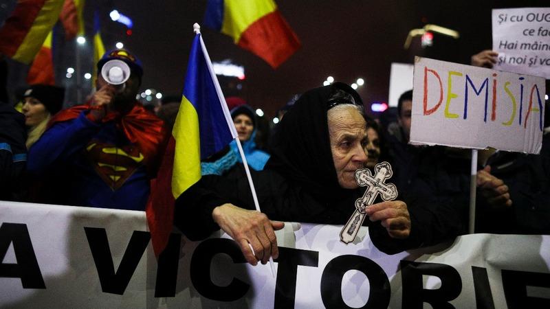 Protests continue in Romania despite repeal