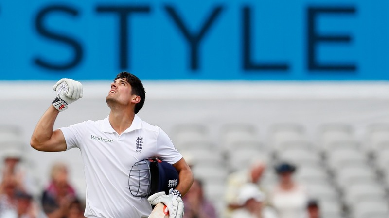 England's cricket captain steps down