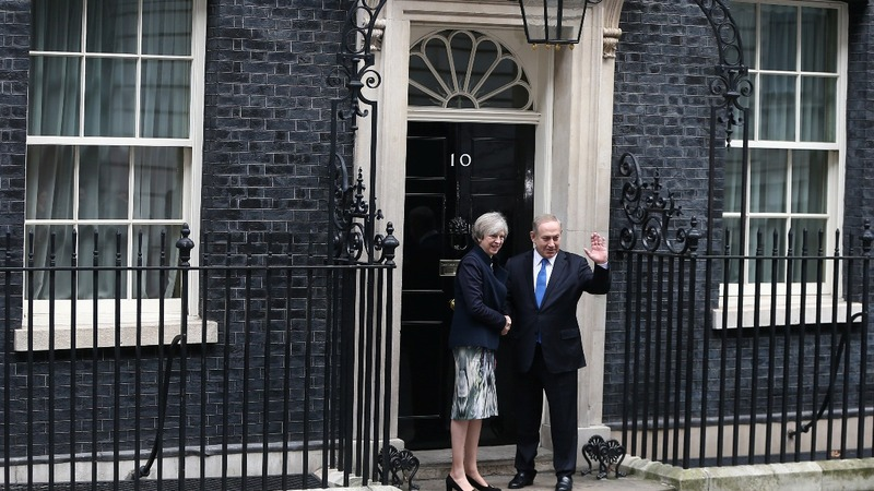 Israeli PM raises Iran in UK visit
