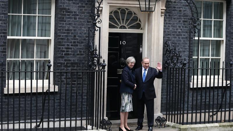 Israeli PM raises Iran in UK visit