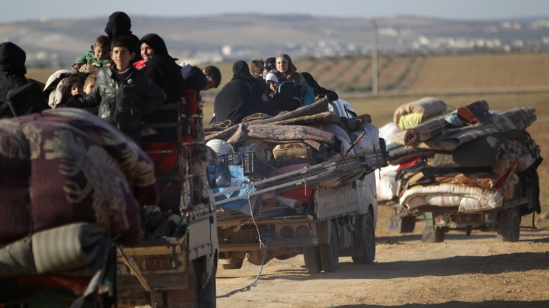 I.S. militants besieged in Syria's Al-Bab