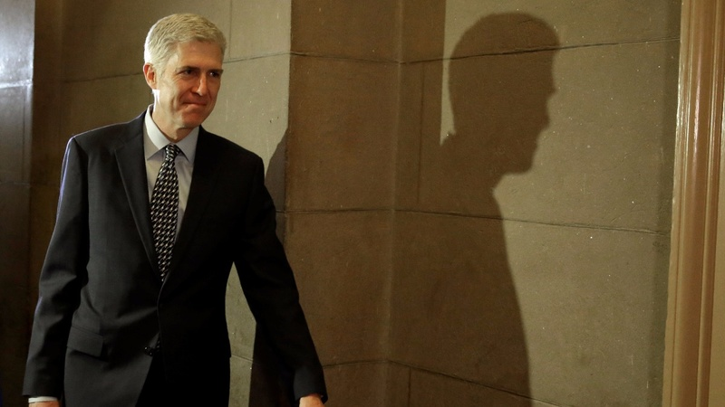 Trump's  anti-judge tweets badly-timed for Gorsuch