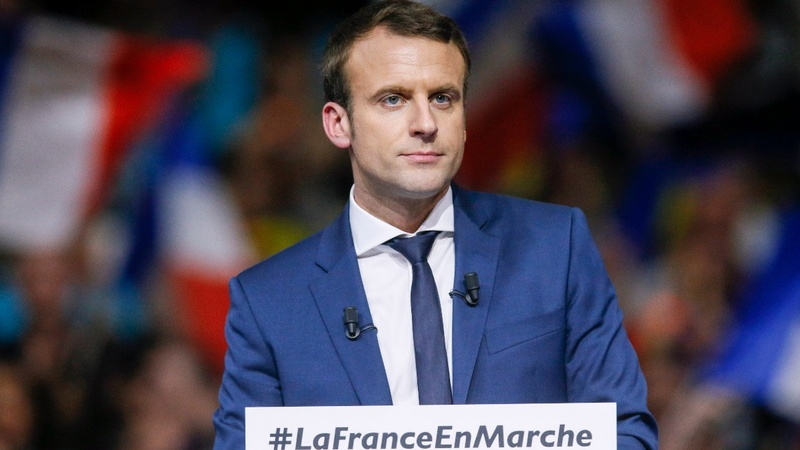 French presidential hopeful Macron dismisses affair