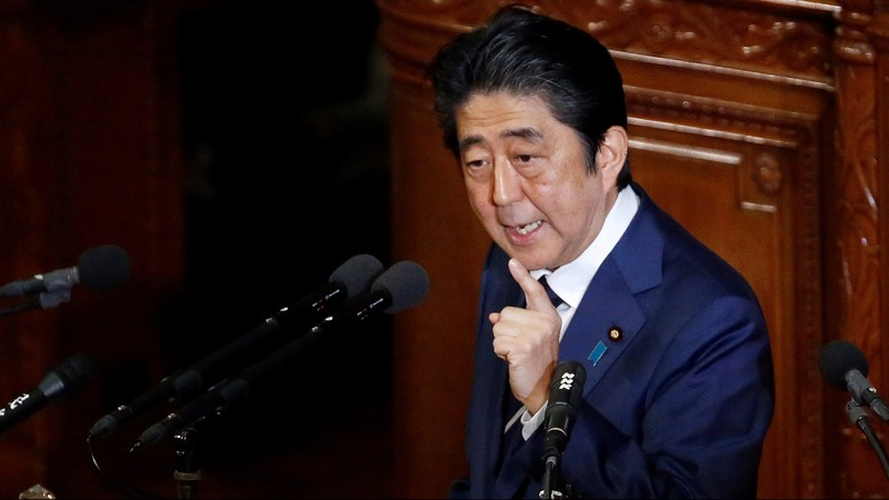 Japan PM hopes to temper Trump's trade talk