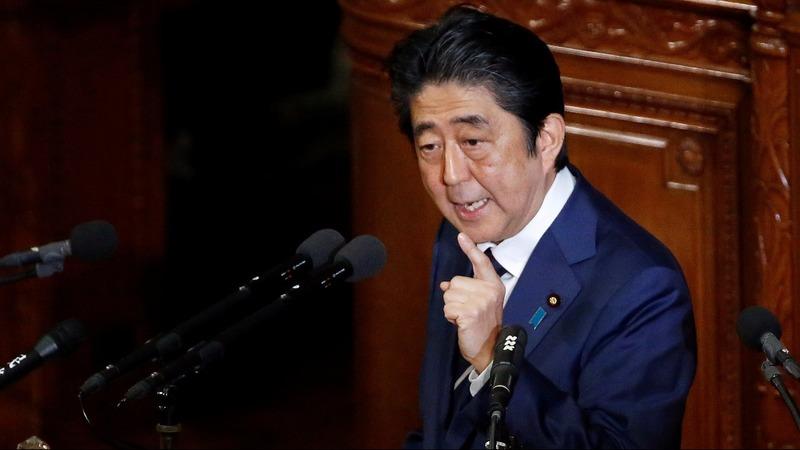Japan PM hopes to temper Trump's trade talk