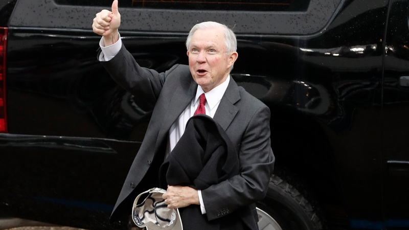 Sessions confirmed as U.S. Attorney General