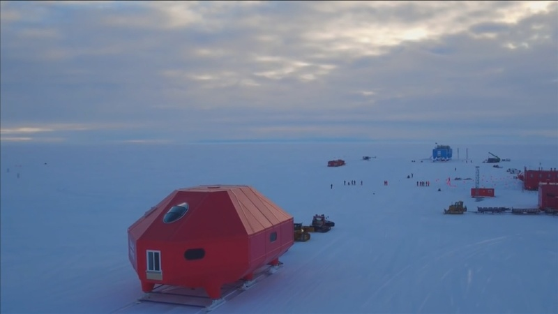INSIGHT: Antarctic base moved from ice cracks