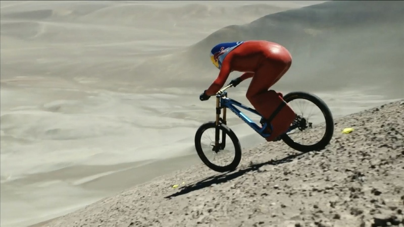 INSIGHT: Mountain biker sets 167 kp/h record