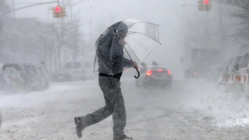Weather 180 brings snowstorm to Northeast