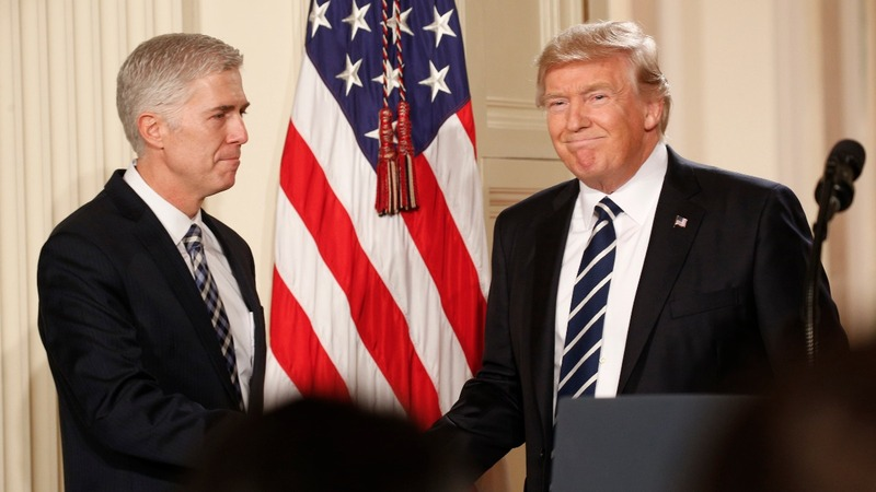 Supreme Court nominee's Trump remarks could help confirmation