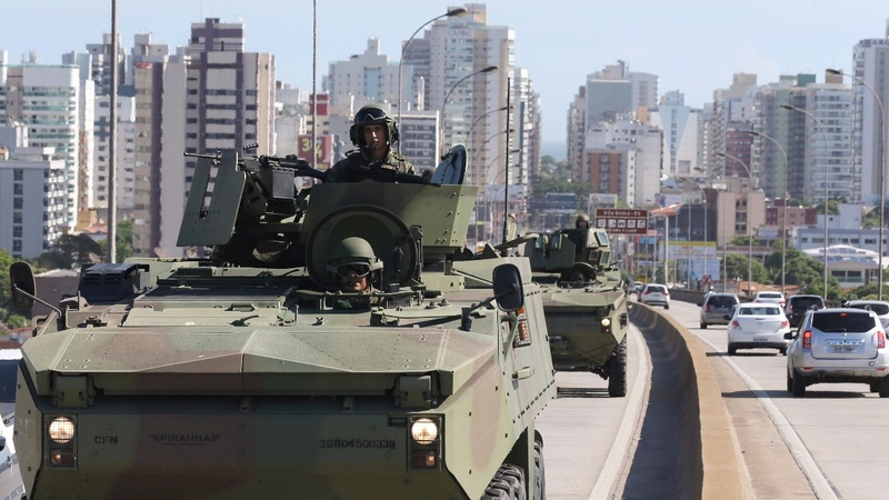 Murders skyrocket amid Brazil police strike
