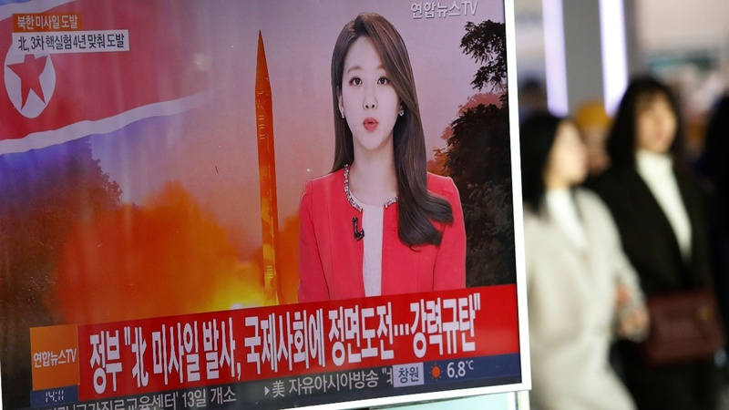 North Korea tests ballistic missile