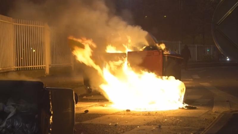 Paris suburb riots target police over alleged rape