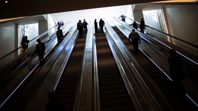 Woman falls to her death off escalator at WTC