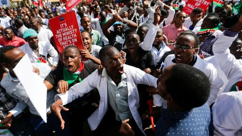 Judge orders strike leaders be jailed - Kenya