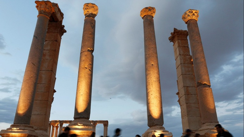 INSIGHT: Russian military shows Palmyra damage