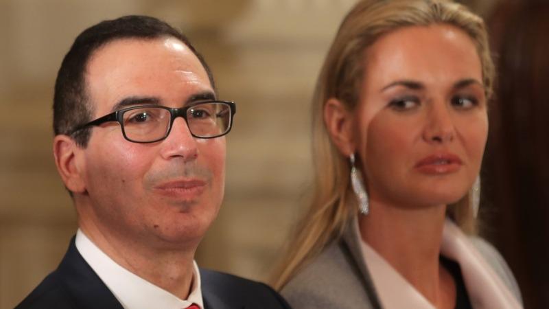 Ex-Wall Street banker Mnuchin set to lead Treasury Dept.