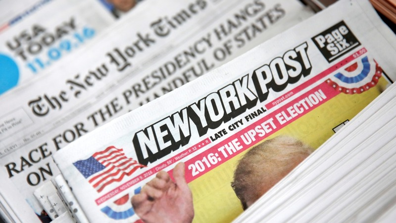 'Dishonest' news media enjoy 'Trump bump'