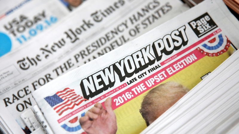 'Dishonest' news media enjoy 'Trump bump'