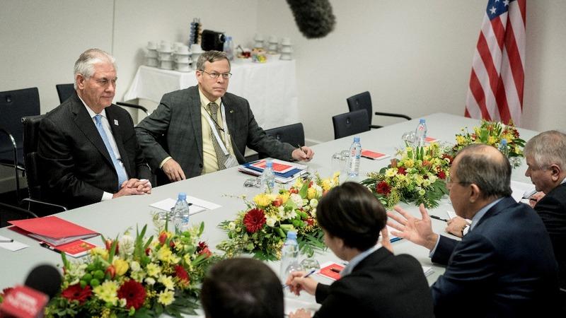 Tillerson pushes Russia on Ukraine