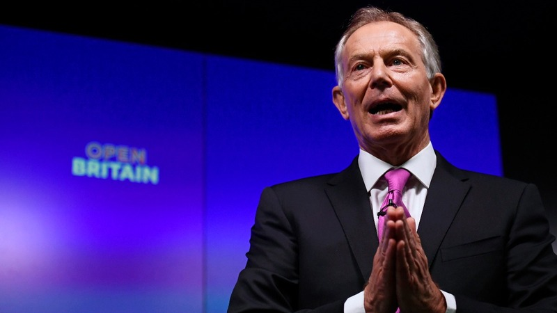 Former PM Blair launches anti-Brexit 'mission'