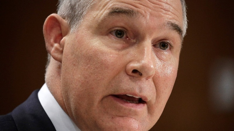 Protests, court order unlikely to derail Trump's EPA pick