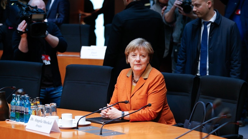 Merkel's leadership chances take poll hit