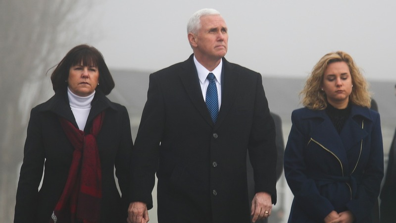 Pence visits former concentration camp Dachau
