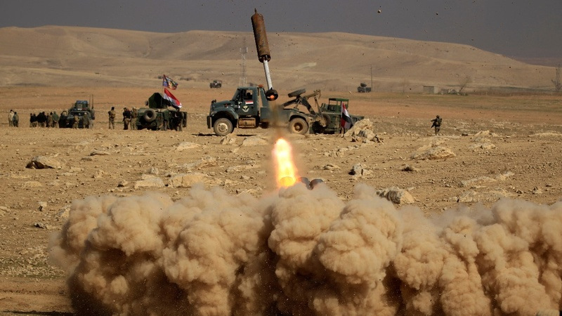 Iraqi forces launch offensive on west Mosul