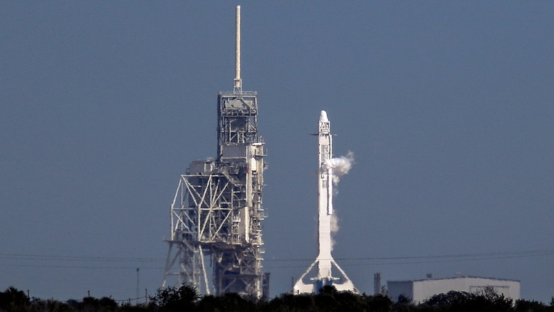 INSIGHT: SpaceX rocket blasts off from Kennedy Space Center