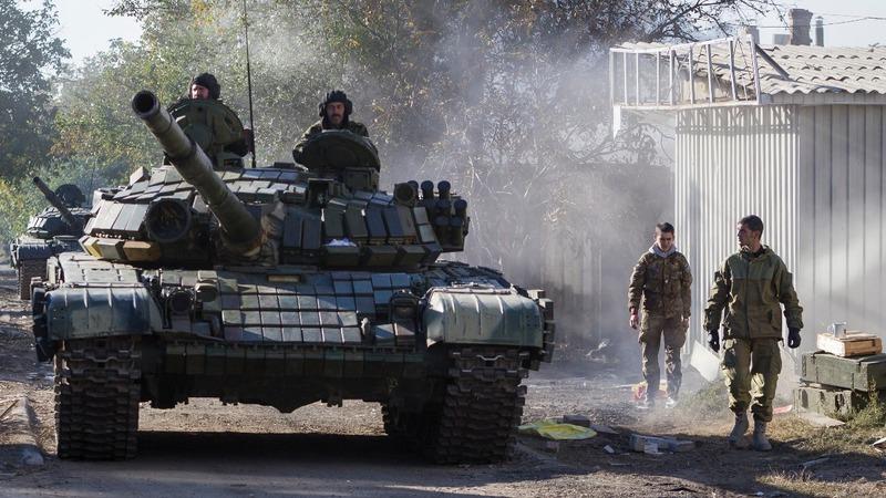Ceasefire, weapon withdrawal push in Ukraine