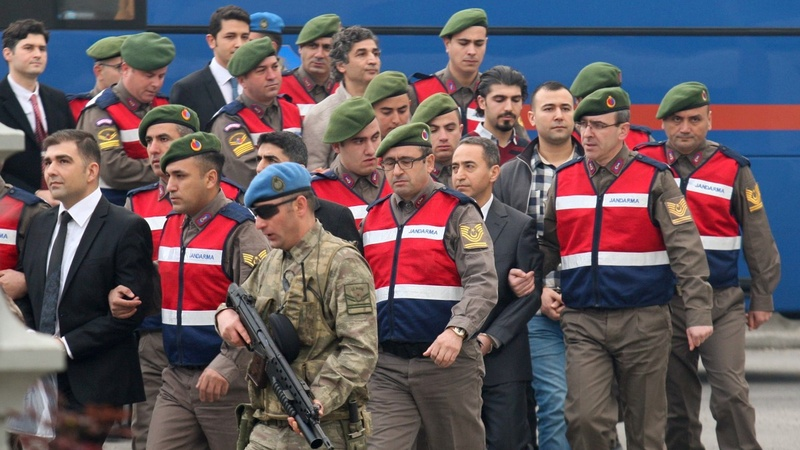 Trial begins for 47 accused of Turkey coup