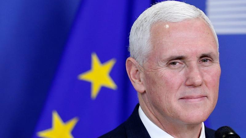 VERBATIM: Pence offers EU olive branch