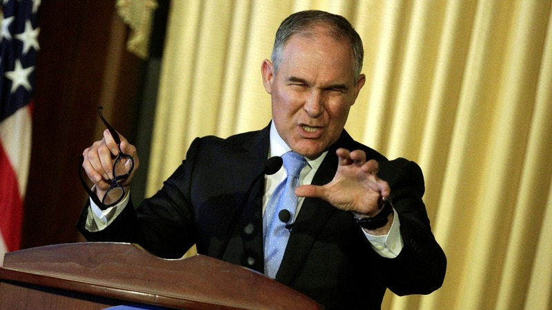 EPA chief focused on regulation, not climate