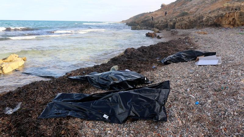 74 dead migrant bodies wash ashore in Libya