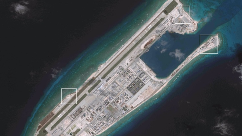 EXCLUSIVE: Signs China could house missiles on islands