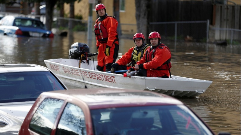 Northern California braces for more heavy flooding