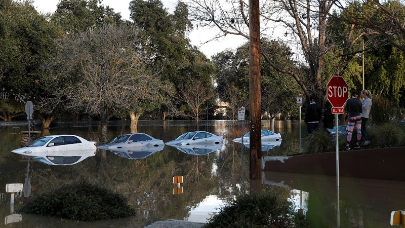 San Jose homes under water, more rain expected