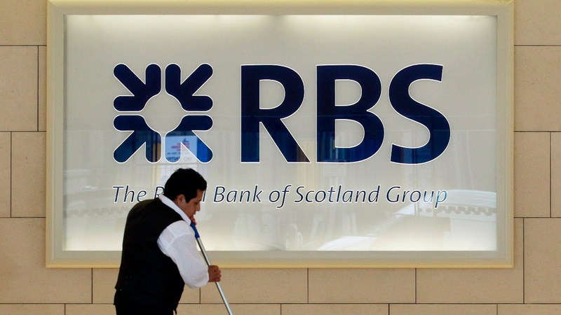 Royal Bank of Scotland reports large losses