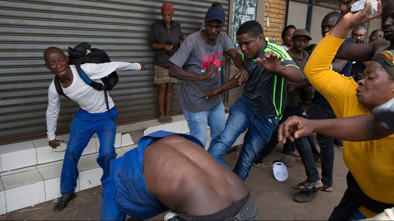 Anti-immigrant violence flares in South Africa