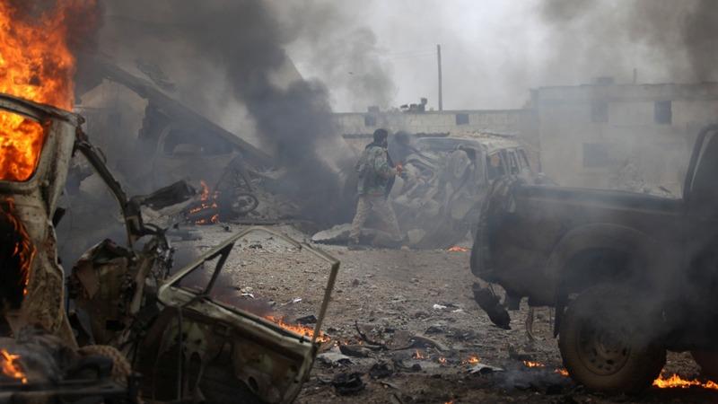 Islamic State car blast kills dozens in Syria