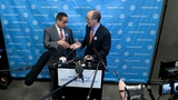 Perez and Ellison come together after tight DNC race