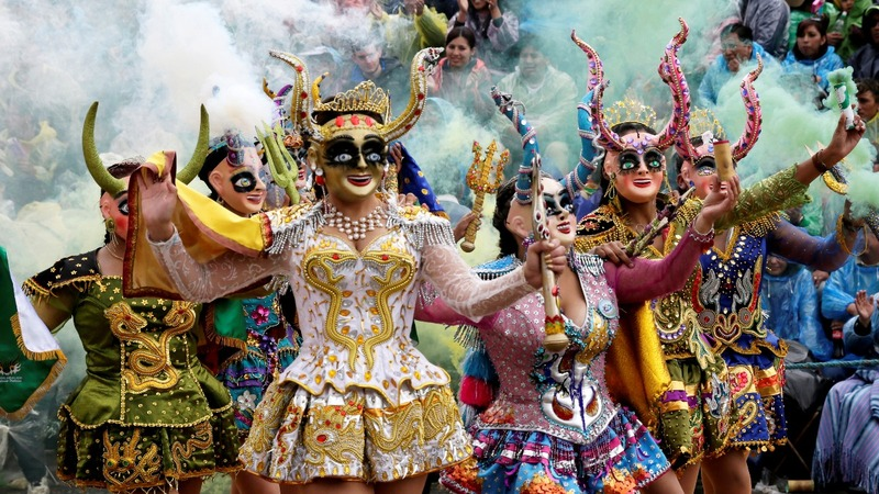INSIGHT: Thousands attend traditional Bolivia Carnival