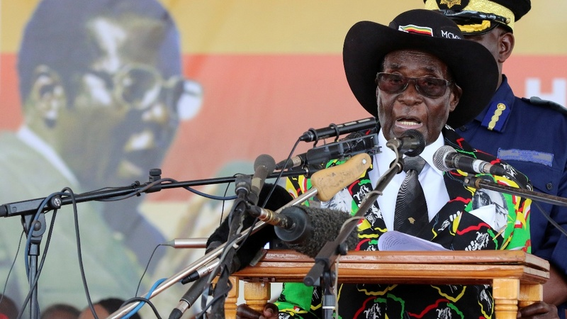 Zimbabwe's Mugabe celebrates 93rd birthday
