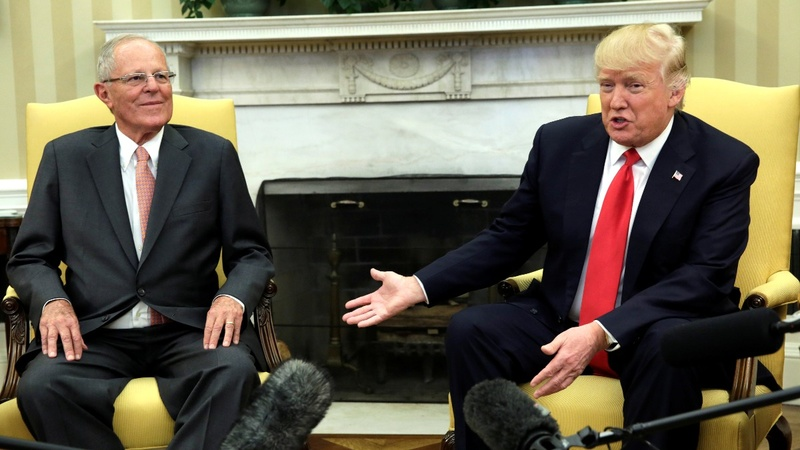 VERBATIM: Peruvian president on meeting Trump