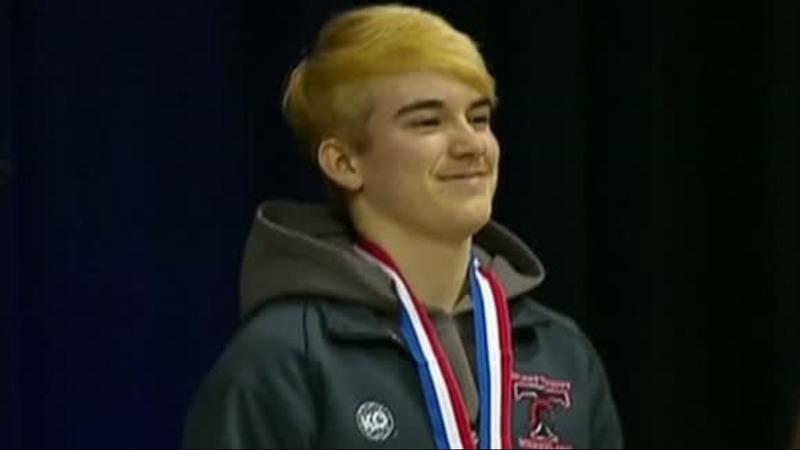 Transgender teen wrestler wins Texas state championship