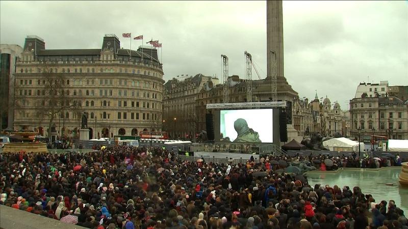 Oscar film's London premiere is part Trump protest