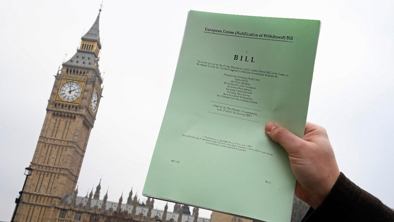 Britain's upper house debates Brexit plan